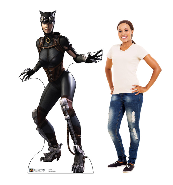 Catwoman - Injustice Gods Among Us Lifesize Cardboard Cutout