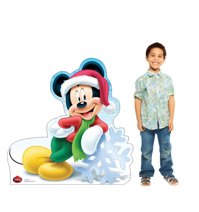 Mickey Mouse Holiday - Disney Lifesize Cardboard Cutout with Model