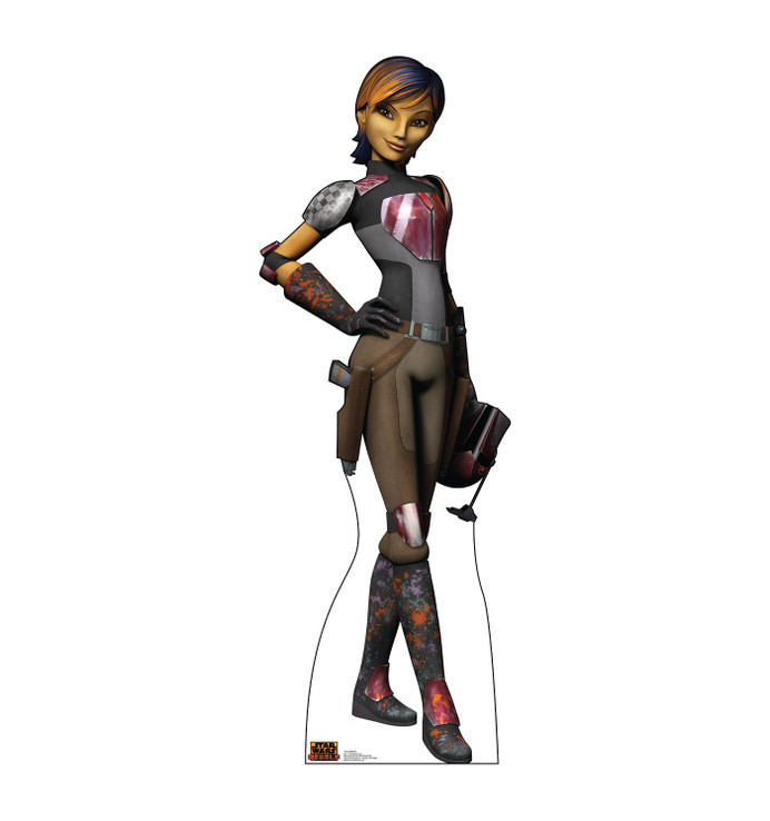 Sabine Wren - Star Wars Rebels Lifesize Cardboard Cutout