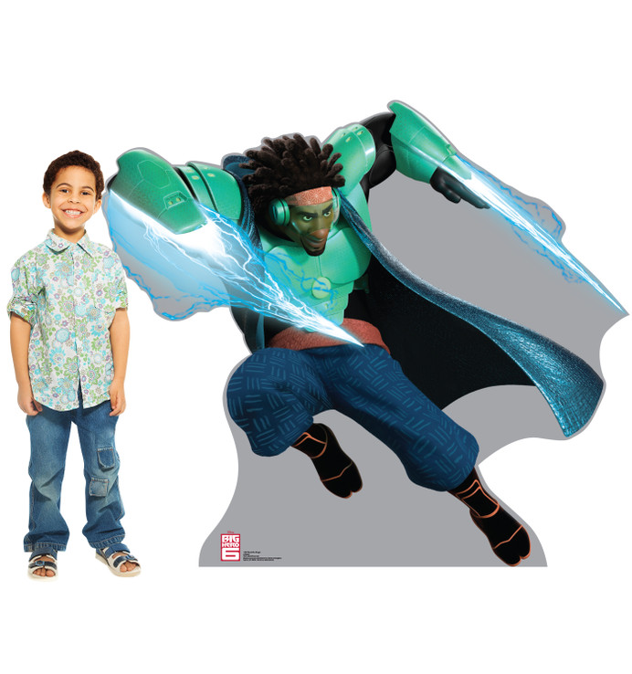 Wasabi No-Ginger - Disney Big Hero 6 Lifesize Cardboard Cutoutwith model