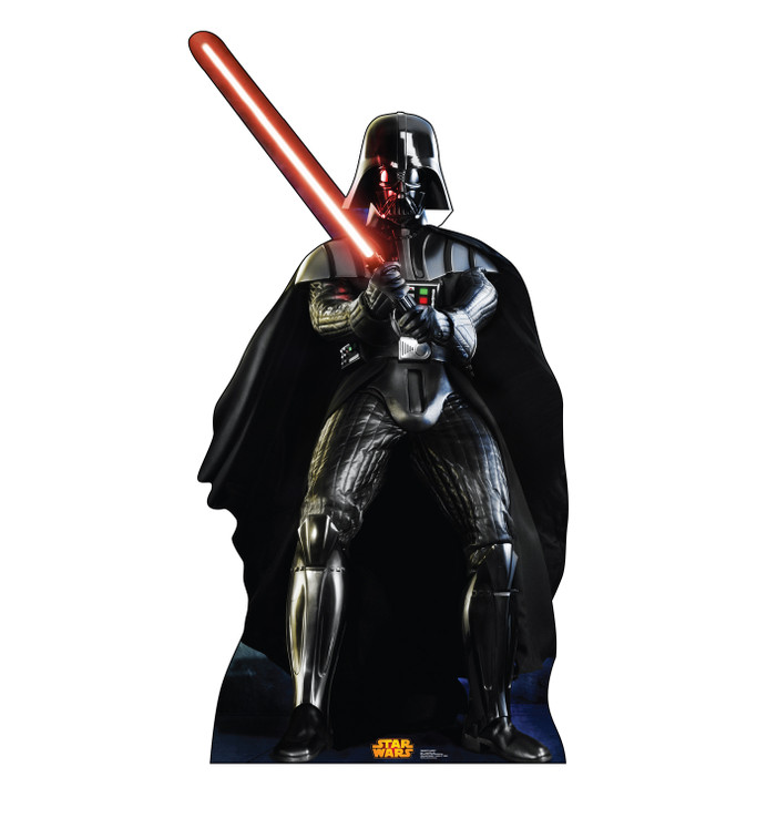 Darth Vader - Star Wars Classics Retouched Lifesize Cardboard Cutout