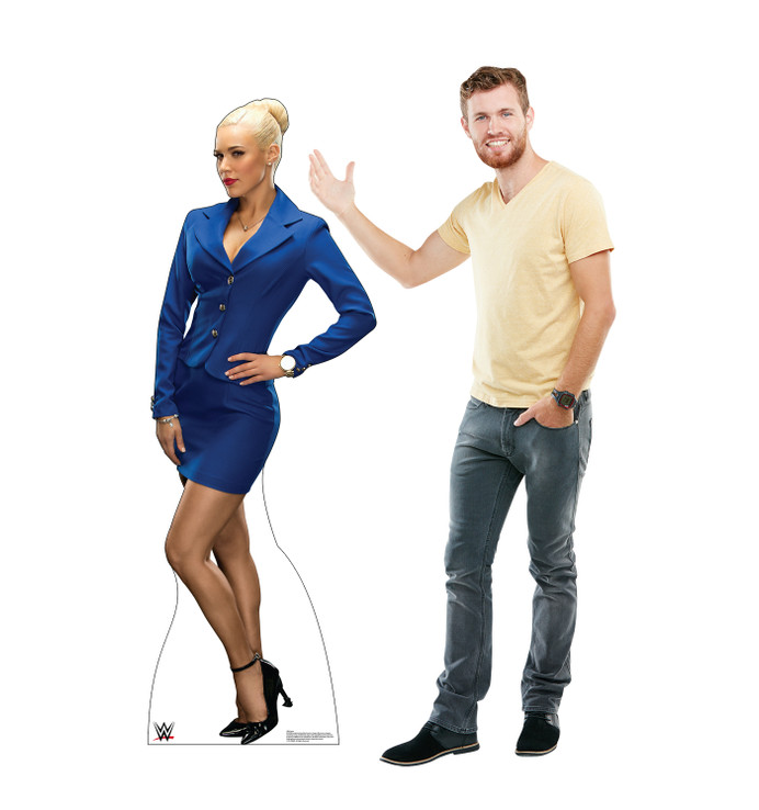 Lana - WWE Lifesize Cardboard Cutout with Model