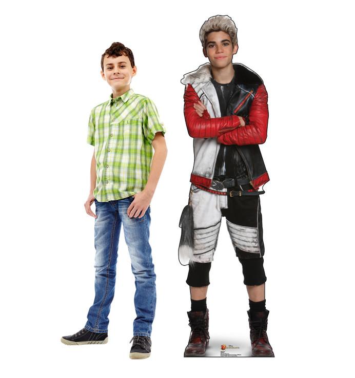 Carlos Devil - Disney Descendants Lifesize Cardboard Cutouts with Model