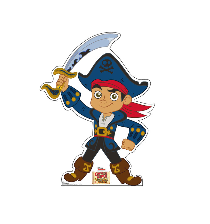Captain Jake - Disney Junior - Jake and the Neverland Pirates Lifesize  Cardboard Cutouts