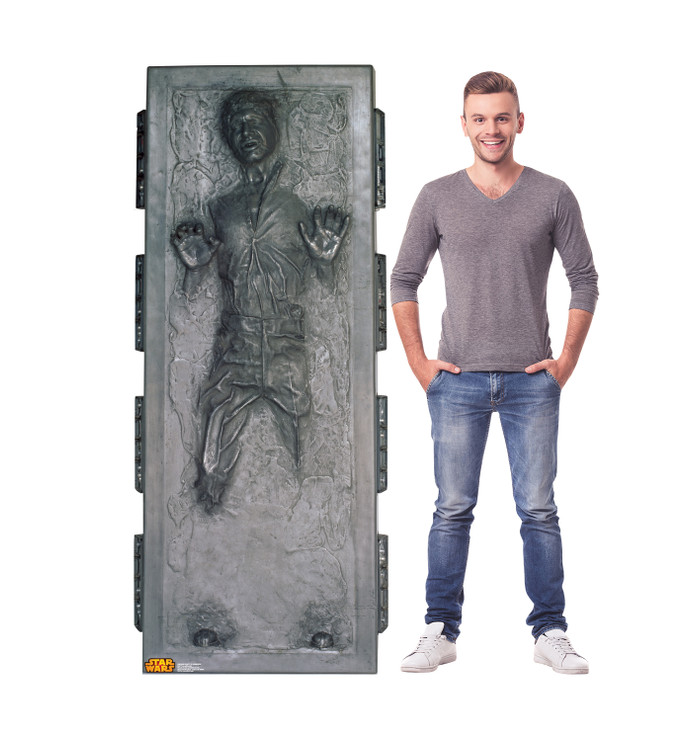 Han Solo in Carbonite - Star Wars Lifesize Cardboard Cutout