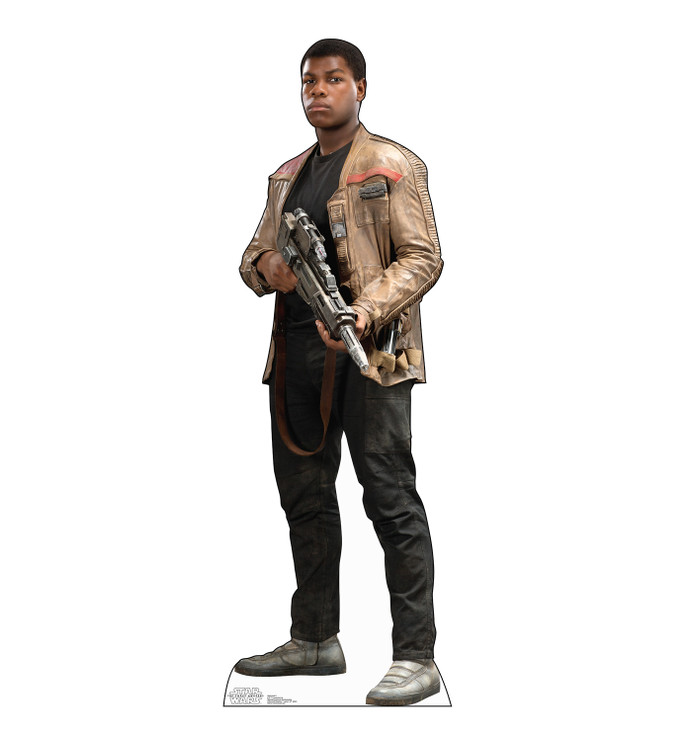 Finn - Star Wars VII The Force Awakens Lifesize Cardboard Cutout