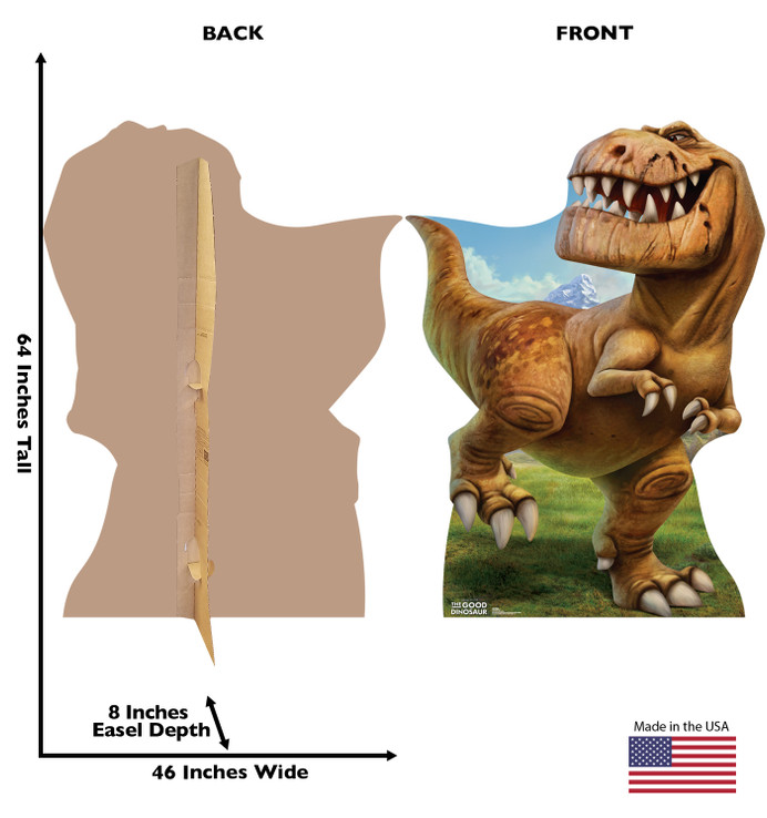 Butch- Disney - The Good Dinosaur  Lifesize Cardboard Cutout
