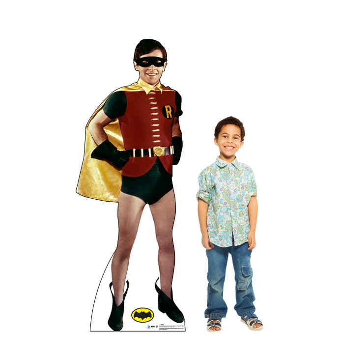 Robin -1969 TV Series - Batman and Robin  Lifesize Cardboard Cutout