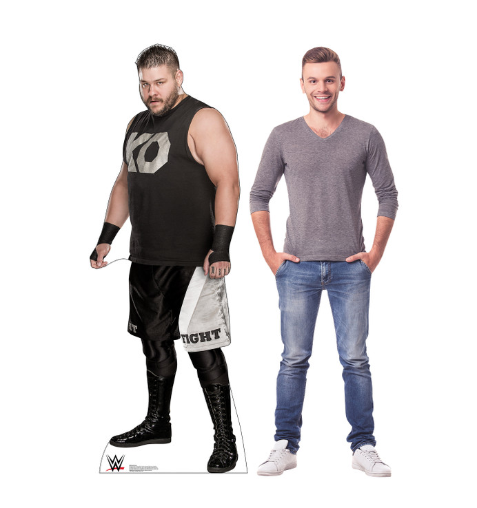 Kevin Owens - WWE Lifesize Cardboard Cutout   with Model