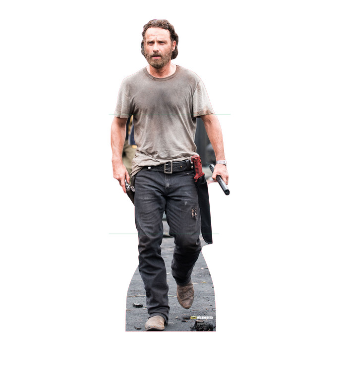 Rick Grimes - The Walking Dead Lifesize Cardboard Cutout