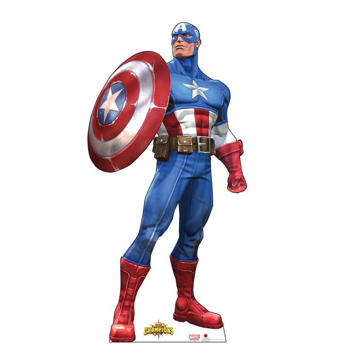 Captain America - Marvel Lifesize Cardboard Cutout