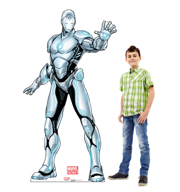 Superior Iron Man - Marvel Lifesize Cardboard Cutout