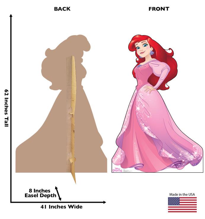Ariel - Disney Princess - Sleeping Beauty - Friendship Adventure Lifesize Cardboard Cutout
