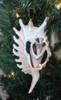 Sliced Millipede Glitter Ornament