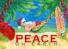 Hammock Santa Claus Christmas Cards