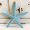 Blue Finger Starfish Glitter Ornament