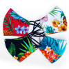 Hawaiian Design Face Masks