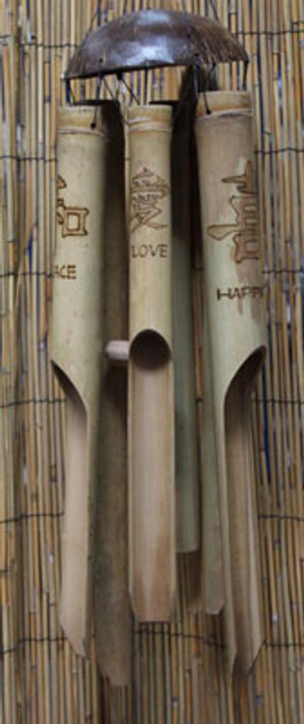 Asian Motif Bamboo Chime