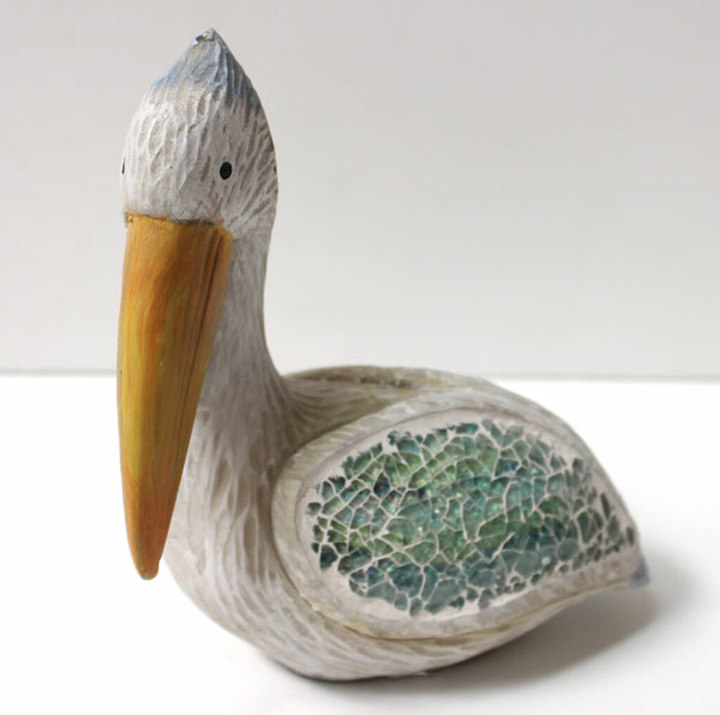 Crushed Glass Pelican