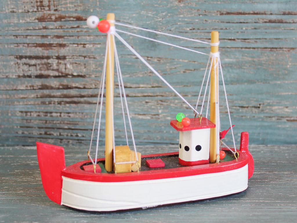 Red Shrimp Boat