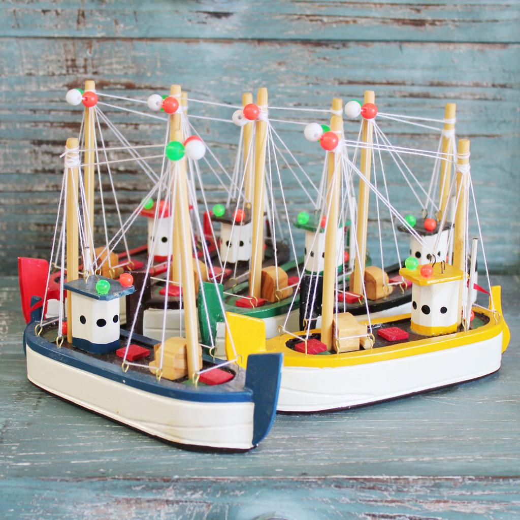 Colorful Shrimp Boats
