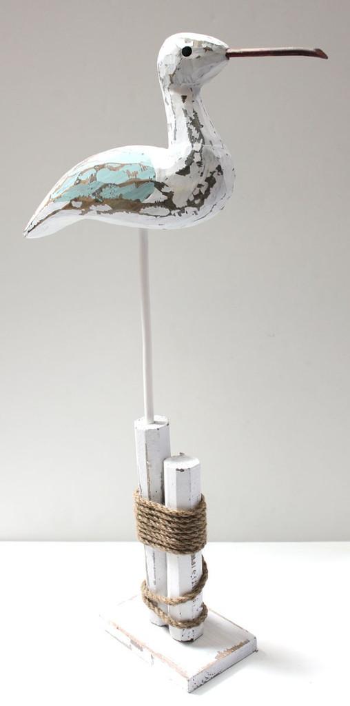 Seabird on Pole