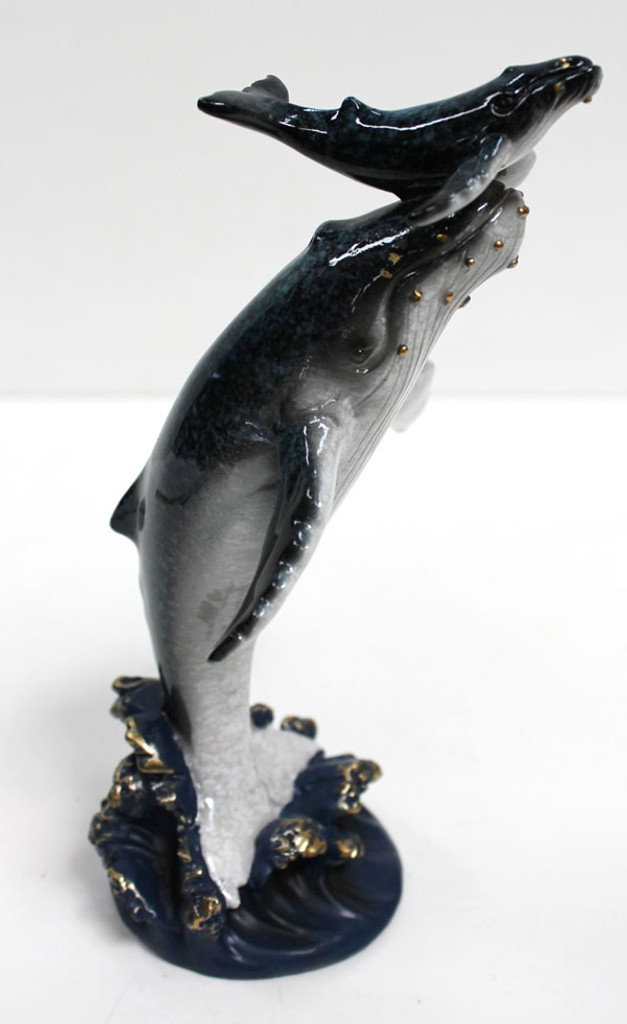 Whale with Baby Figurine
