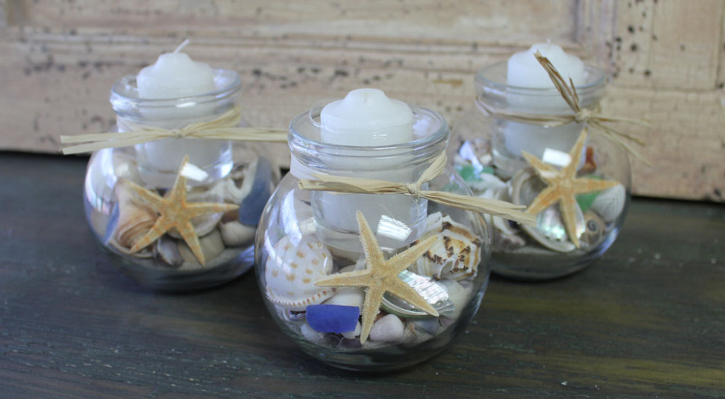 Ivy Ball Candles - Various Color Accents