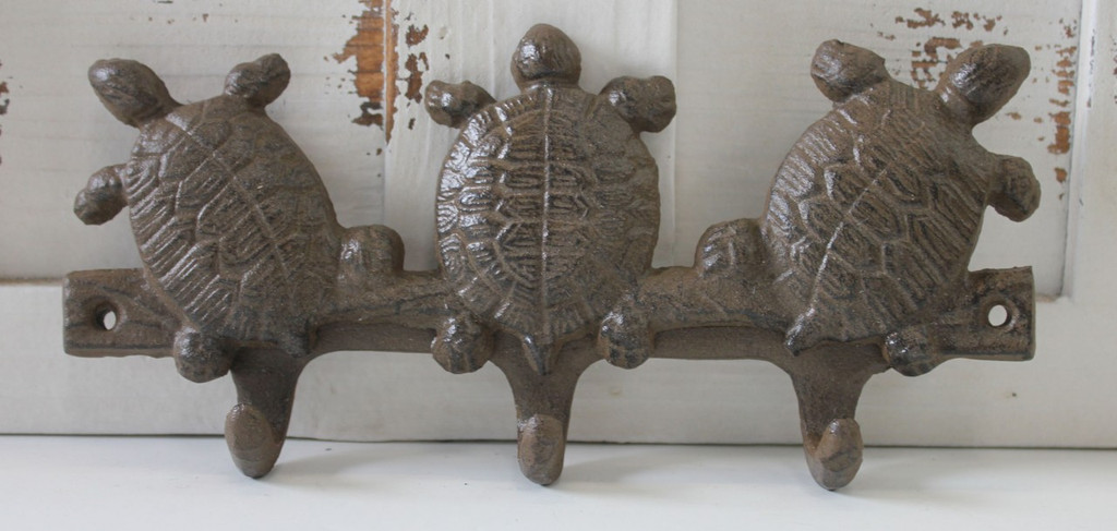 Triple Turtle Key Hook