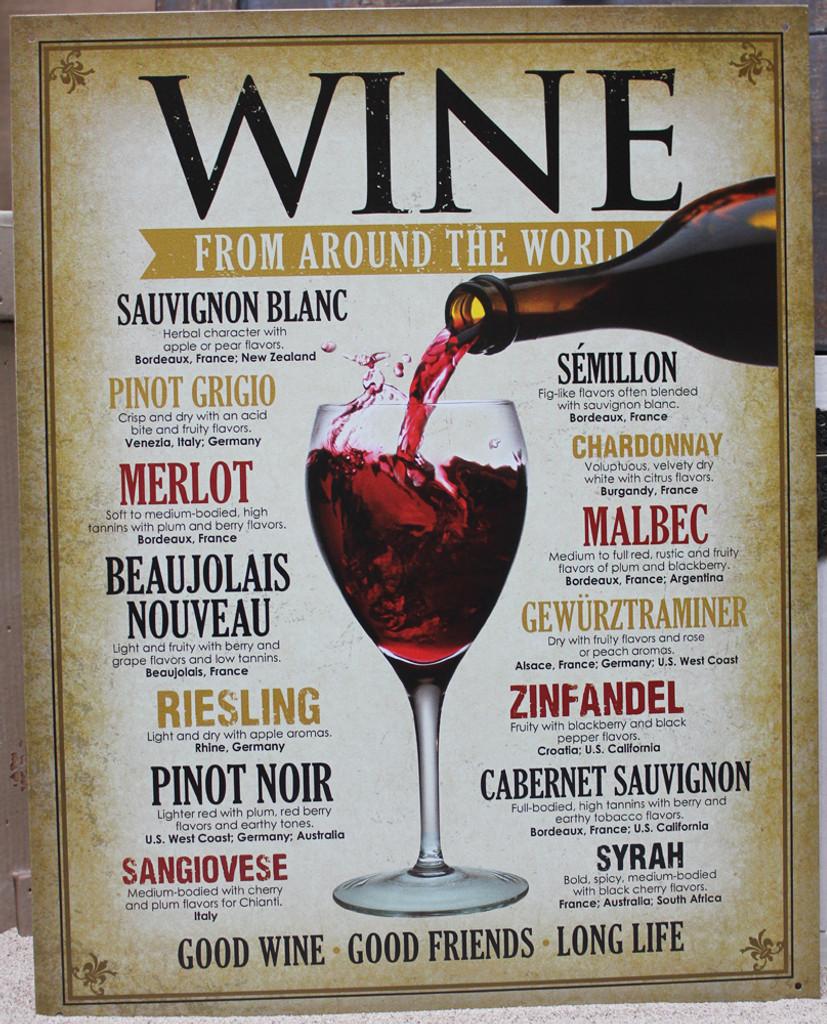 Wine from Around the World