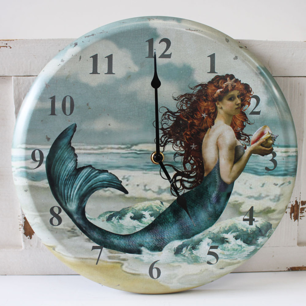 Beauty of the Sea - Mermaid Clock