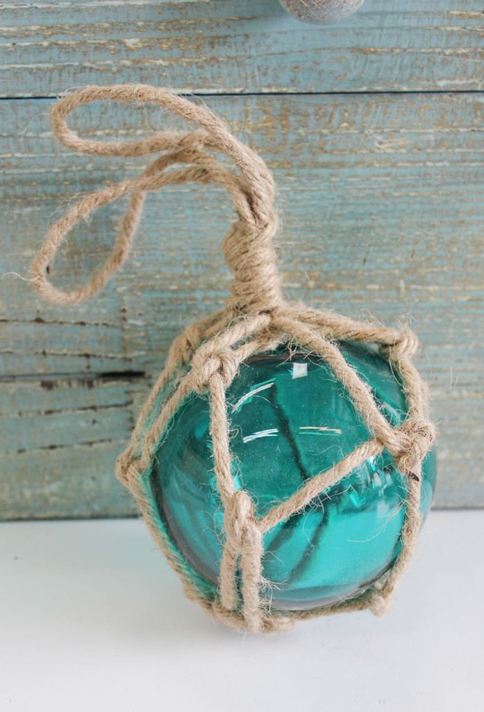 Teal Glass Float