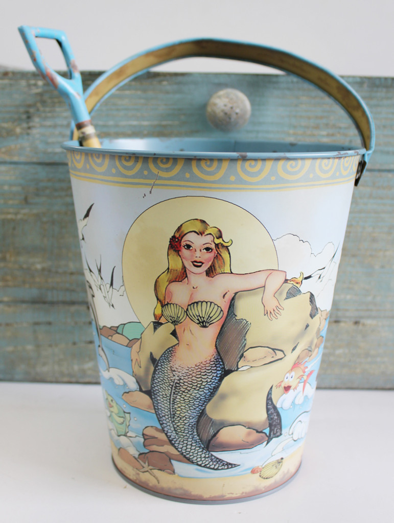Mermaid Sand Pail & Shovel
