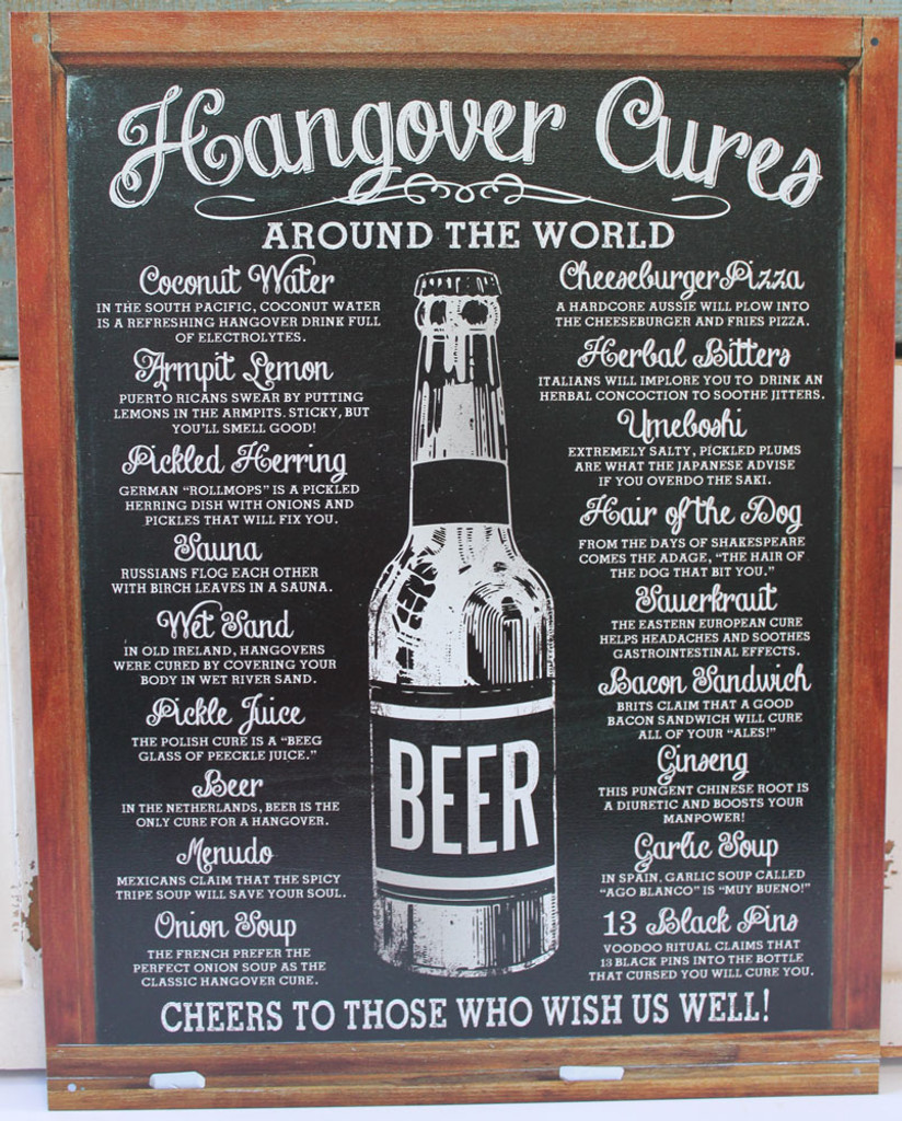 Hangover Cures