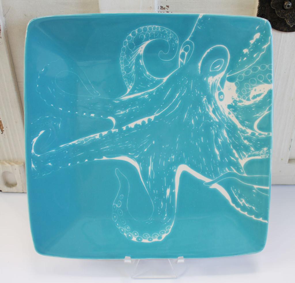 Octopus Salad Plate