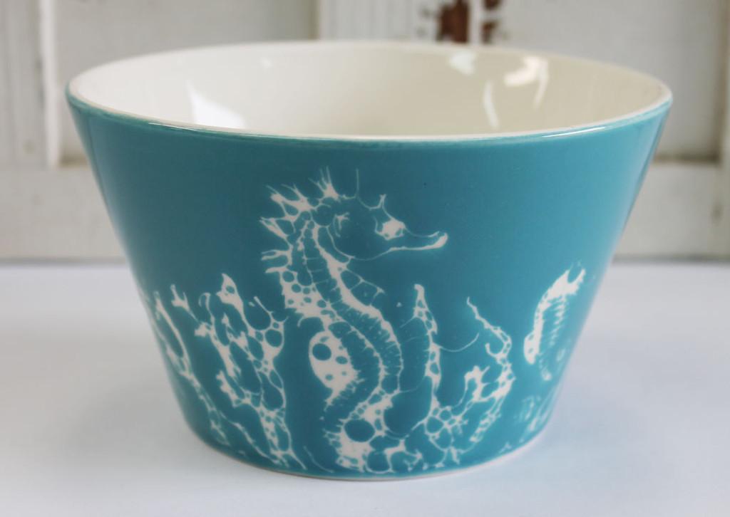 Ceramic Seahorse Bowl