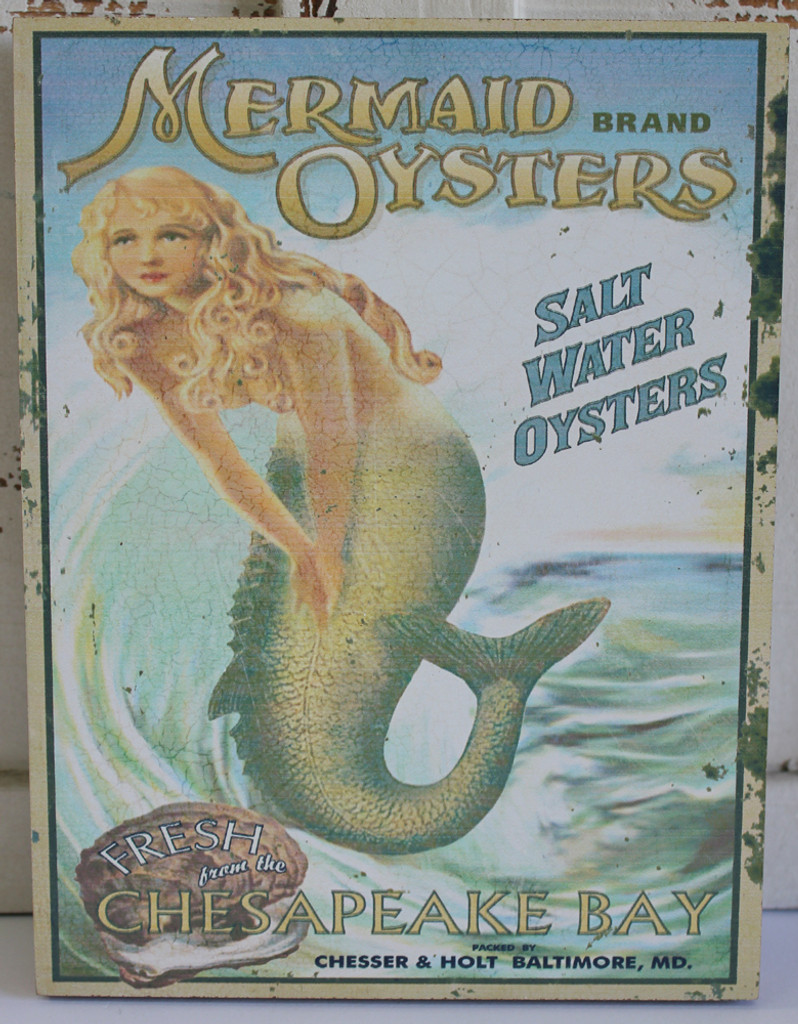 Mermaid Brand Oysters Ad