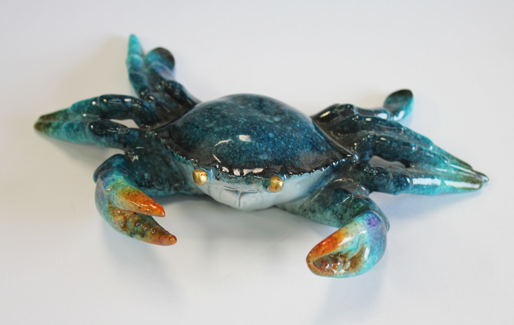 Blue Crab Figure