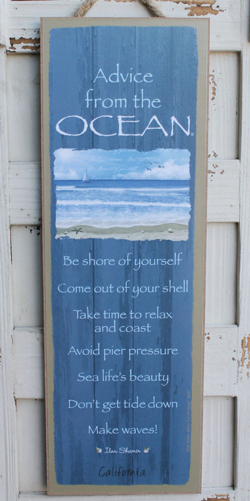 Advice from the Ocean Sign