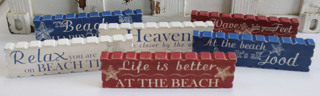 Red, White & Blue Nautical Signs