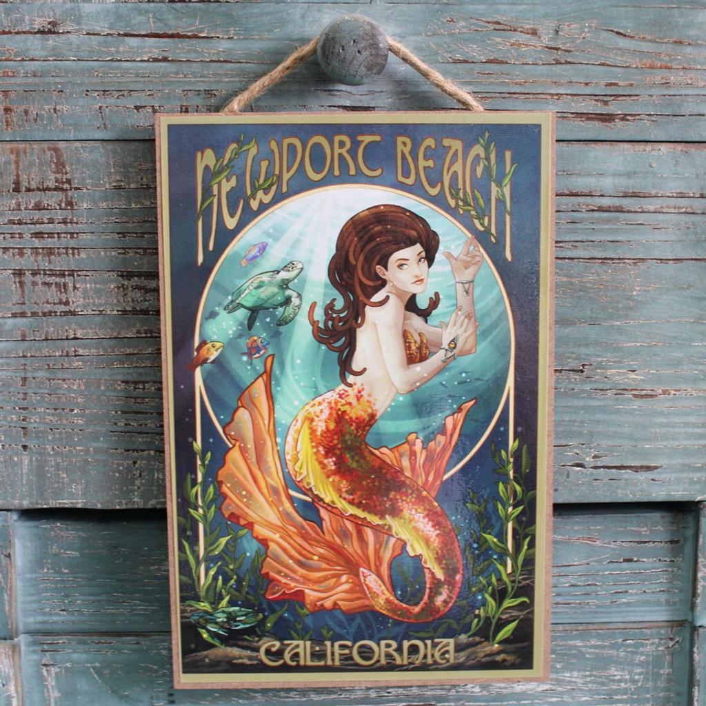 Newport Beach Mermaid