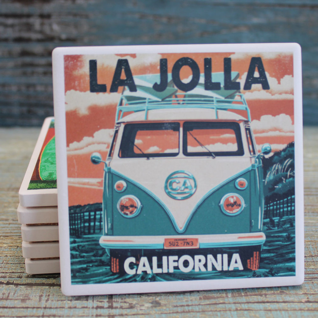 La Jolla VW Bus Coaster