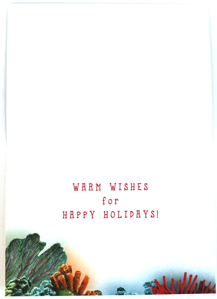 WARM WISHES for HAPPY HOLIDAYS!