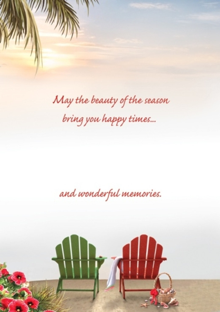 May the beauty of the season bring you happy times and wonderful memories.