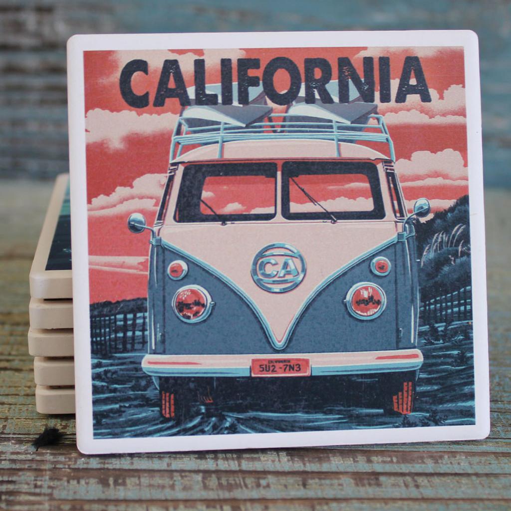 California VW Bus Coaster