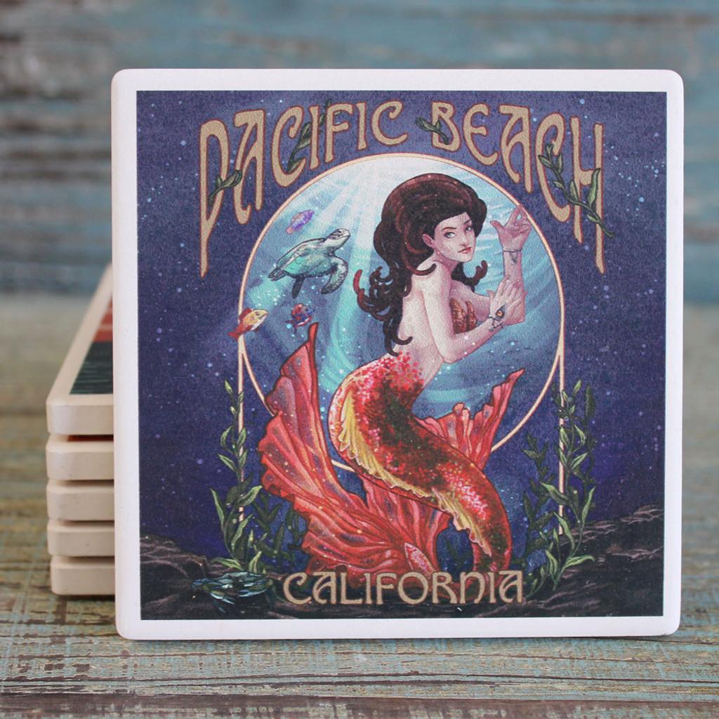 Pacific Beach Mermaid Coaster