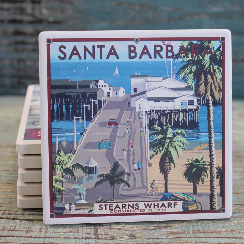 Santa Barbara Stearns Wharf Coaster