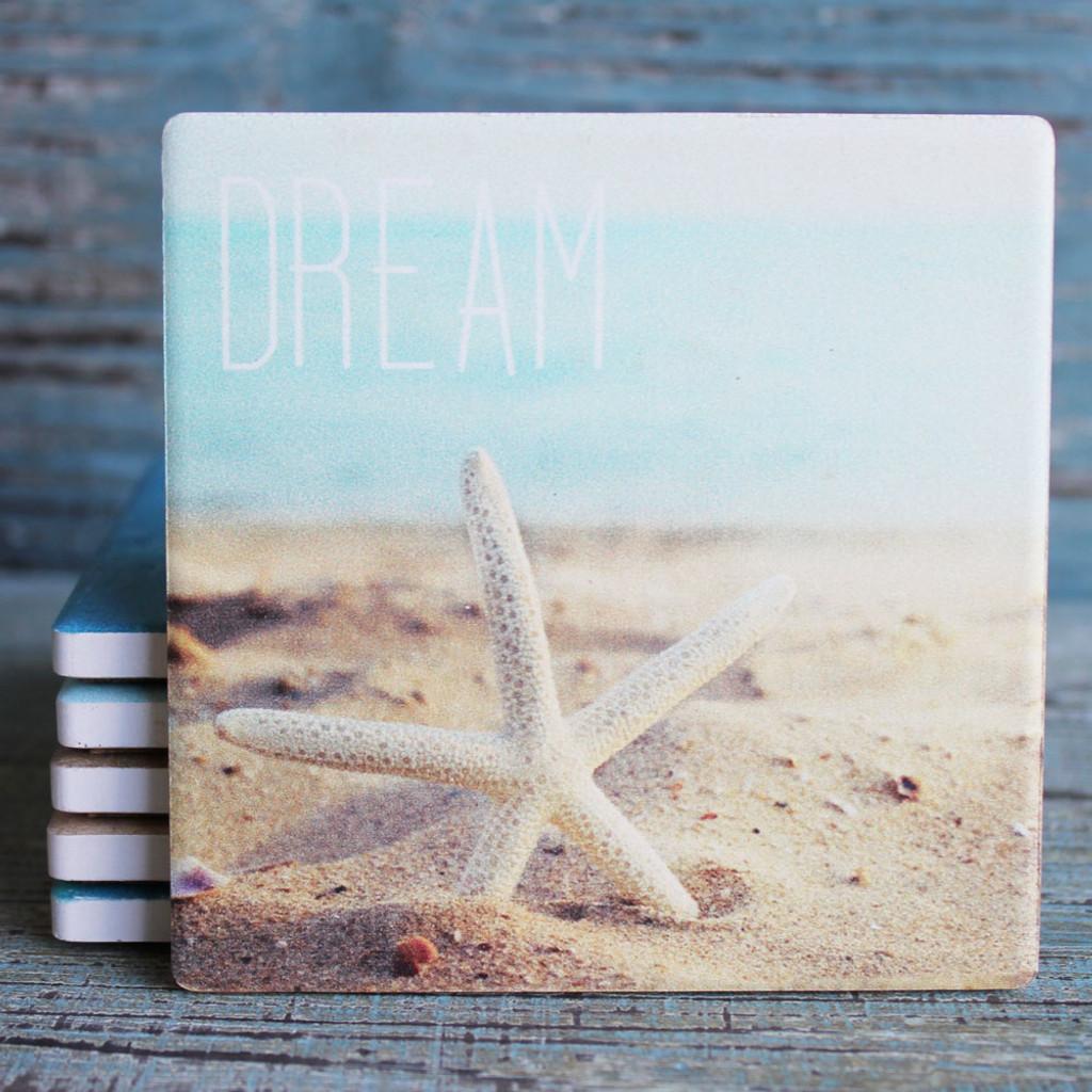 Dream - White Starfish in the Sand