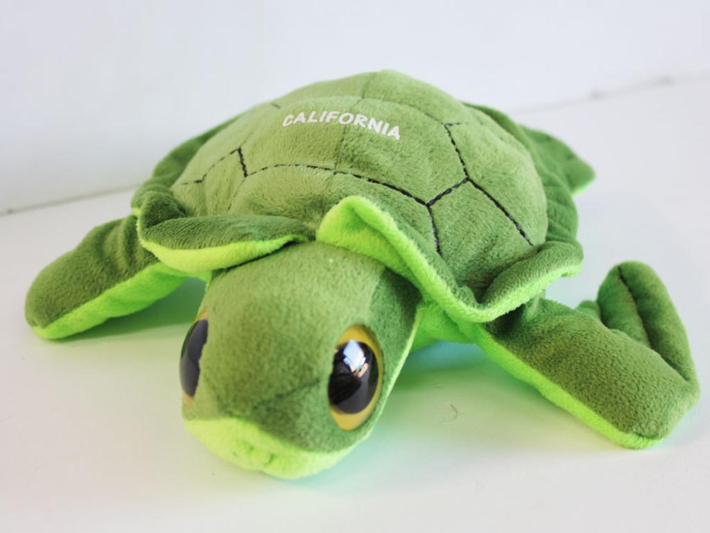 Green Turtle Stuffed Animal
