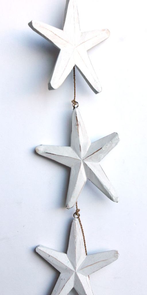 White Star Garland